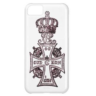 ヴィンテージの華美な十字 iPhone5Cケース