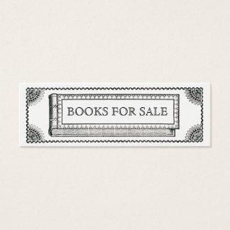 ヴィンテージの華美な本、販売のための旧式な本 スキニー名刺