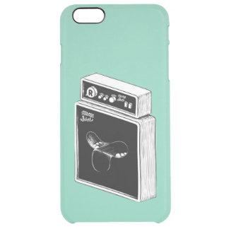 ヴィンテージの落書きのiPhone 6のプラスのClearly™の場合 クリア iPhone 6 Plusケース