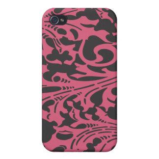 ヴィンテージの葉のアールヌーボーのiPhoneカバー iPhone 4/4S ケース