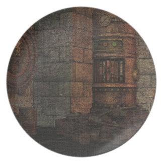 ヴィンテージの蒸気のパンクの装飾的なプレート プレート