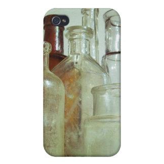 ヴィンテージの薬のボトルの表示 iPhone 4 COVER