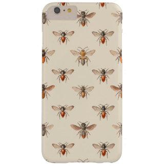 ヴィンテージの蜂の絵パターン BARELY THERE iPhone 6 PLUS ケース