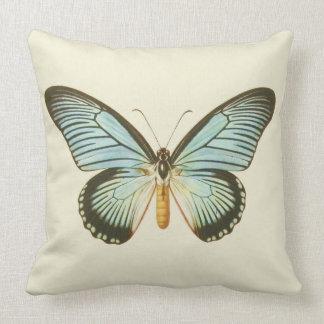 ヴィンテージの蝶枕 クッション