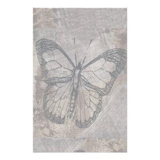 ヴィンテージの蝶 便箋