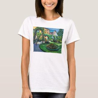 ヴィンテージの表現主義、庭、Gartenbild、Macke Tシャツ