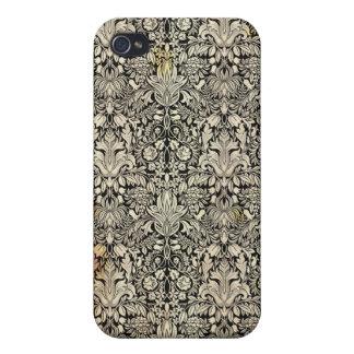 ヴィンテージの装飾用のアールヌーボーIPhone 4Sの場合 iPhone 4 ケース