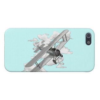ヴィンテージの複葉機 iPhone 5 COVER