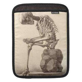 ヴィンテージの解剖骨組IPadの袖 iPadスリーブ