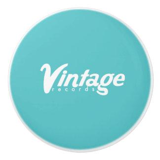 ヴィンテージの記録陶磁器のノブ セラミックノブ
