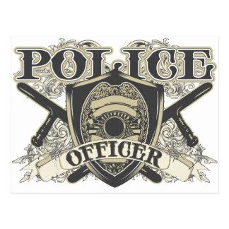 ヴィンテージの警官 ポストカード