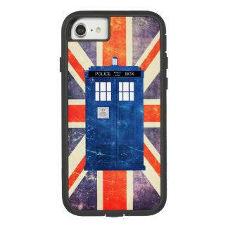 ヴィンテージの警察は箱の英国国旗の旗に電話をかけます Case-Mate TOUGH EXTREME iPhone 7ケース
