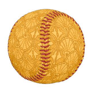 ヴィンテージの貝殻のイエロー・ゴールドのマンゴ 野球ボール