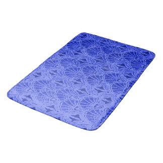 ヴィンテージの貝殻のサファイアの青 バスマット