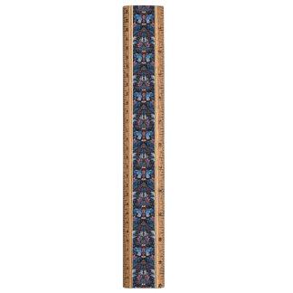 ヴィンテージの贅沢な花の庭の青い鳥のルクスパターン 定規