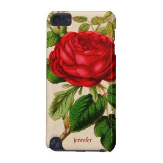 ヴィンテージの赤いバラのiPodの箱 iPod Touch 5G ケース