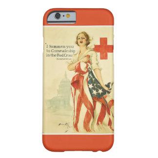 ヴィンテージの赤十字のiPhone 6カバー iPhone 6 ベアリーゼアケース