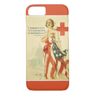ヴィンテージの赤十字のiPhone 7カバー iPhone 7ケース