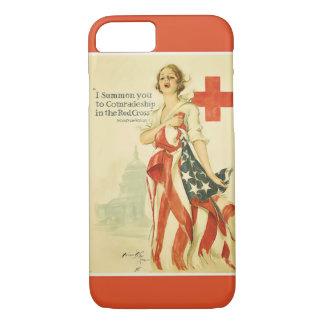 ヴィンテージの赤十字のiPhone 7カバー iPhone 8/7ケース