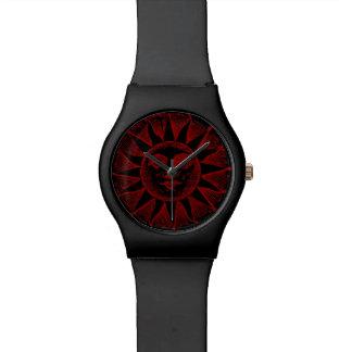 ヴィンテージの赤日曜日 腕時計