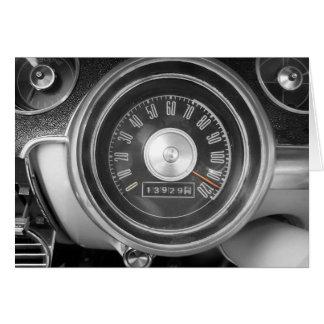 ヴィンテージの速度 グリーティングカード