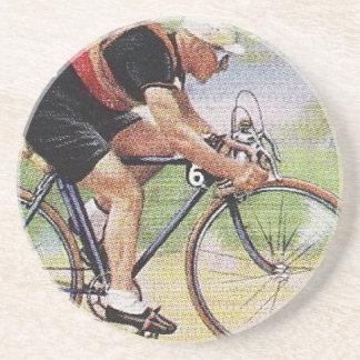 ヴィンテージの道競争のサイクリストのコースター コースター