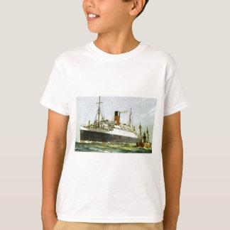 ヴィンテージの遠洋定期船およびタグボート Tシャツ