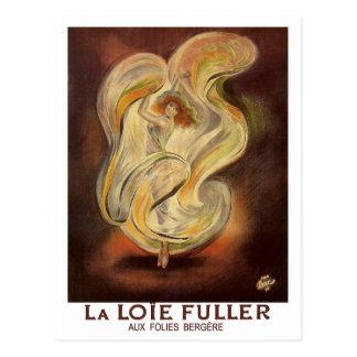 ヴィンテージの郵便はがき: より完全なFolies BergereのLa Loie ポストカード