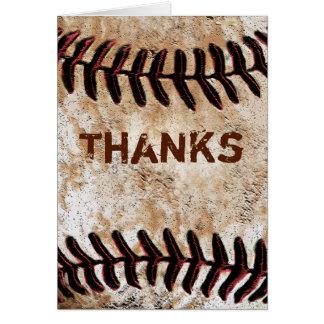 ヴィンテージの野球のように感謝していしていますテーマカード投石して下さい カード