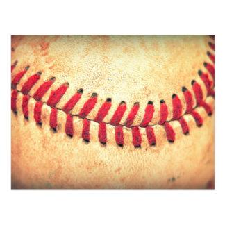 ヴィンテージの野球の球 ポストカード