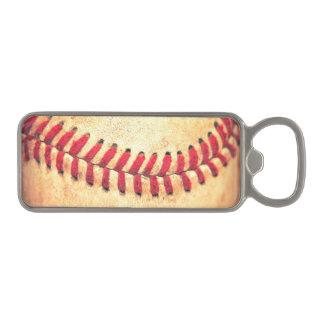 ヴィンテージの野球の球 マグネット栓抜き