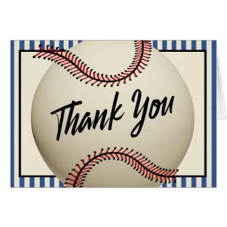 ヴィンテージの野球は感謝していしています カード
