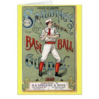 ヴィンテージの野球ガイド カード