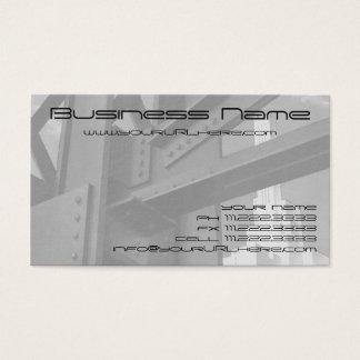ヴィンテージの鋼鉄建築の超高層ビルの建築 名刺