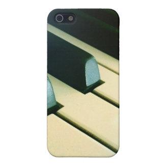 ヴィンテージの鍵-音楽 iPhone 5 ケース