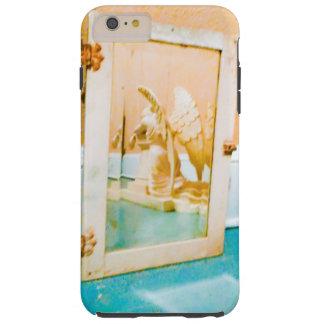 ヴィンテージの鏡の天使 TOUGH iPhone 6 PLUS ケース