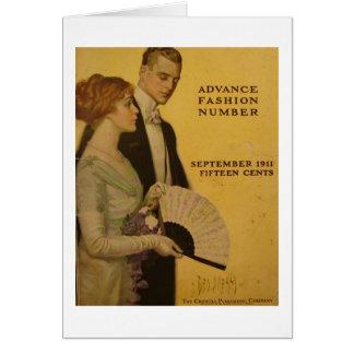 ヴィンテージの雑誌カバー、1911年9月 カード