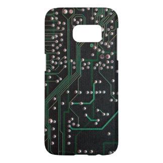ヴィンテージの電子回路板 SAMSUNG GALAXY S7 ケース