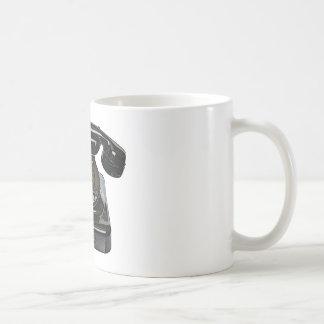 ヴィンテージの電話マグ コーヒーマグカップ