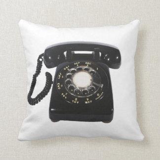 ヴィンテージの電話リバーシブルの投球の装飾の枕 クッション