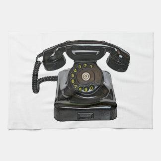 ヴィンテージの電話台所タオル キッチンタオル