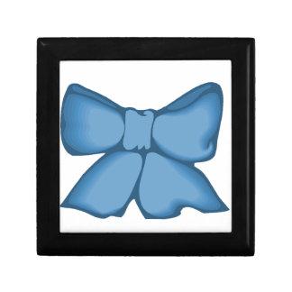 ヴィンテージの青い弓ギフト用の箱! ギフトボックス
