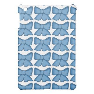 ヴィンテージの青い弓Ipadの箱! iPad Mini カバー