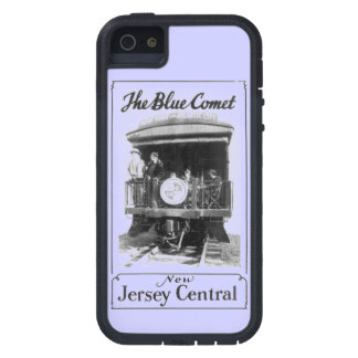 ヴィンテージの青い彗星の列車 iPhone SE/5/5s ケース