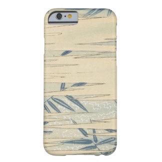 ヴィンテージの青のタケ BARELY THERE iPhone 6 ケース