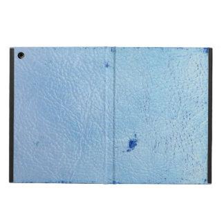ヴィンテージの青の革 iPad AIRケース