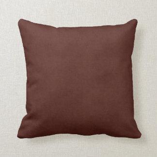 ヴィンテージの革によって日焼けさせるブラウンの硫酸紙 クッション