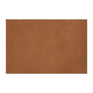 ヴィンテージの革ブラウンのアンティークの紙のテンプレートのブランク キャンバスプリント