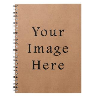 ヴィンテージの革ブラウンの硫酸紙の背景 ノートブック