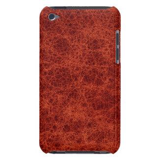 ヴィンテージの革赤い錆の中型の穀物の本 Case-Mate iPod TOUCH ケース